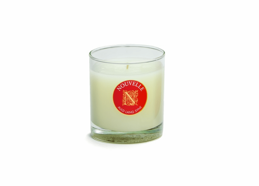 _DISCONTINUED - Fireside Holiday Large Signature Glass 11 oz. Nouvelle Candle