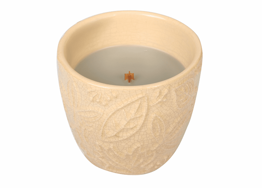 _DISCONTINUED - *Fireside Leaf Collection Ceramic Tumbler WoodWick Candle