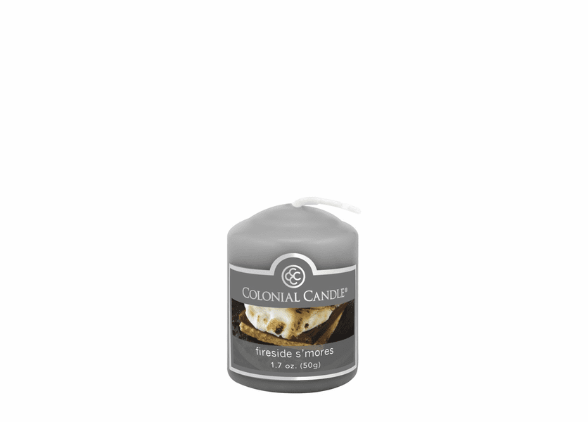 _DISCONTINUED - Fireside S'mores 1.7 oz. Votive Colonial Candle