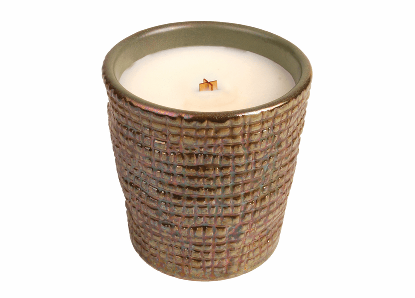 _DISCONTINUED - Fireside Tumbler Premium WoodWick Candle