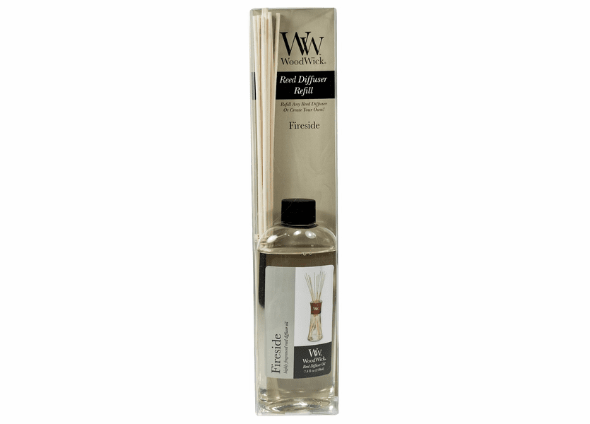 _DISCONTINUED - Fireside WoodWick 7.4 oz. Reed Diffuser REFILL