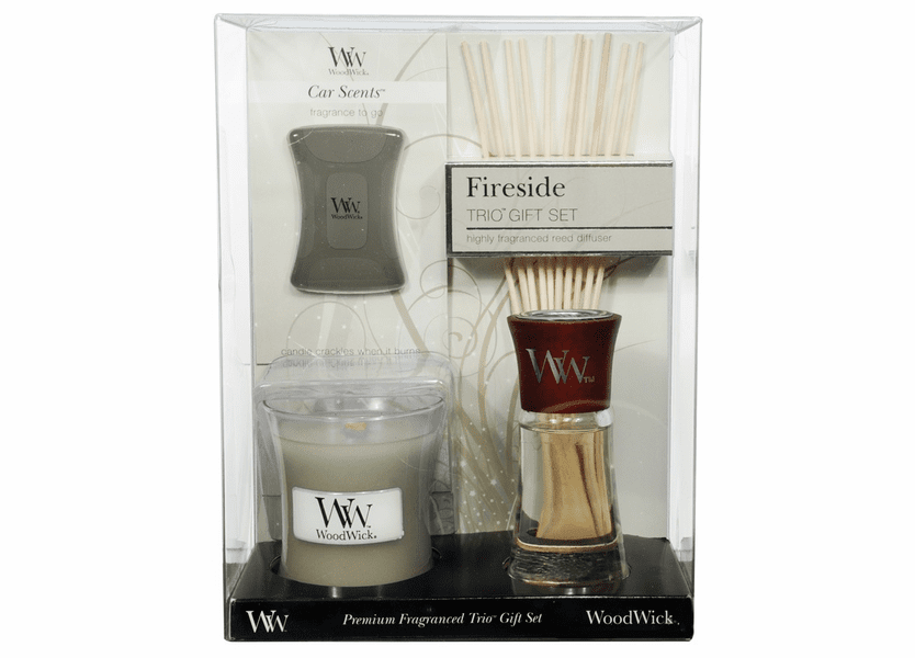 _DISCONTINUED - Fireside WoodWick Trio Gift Set