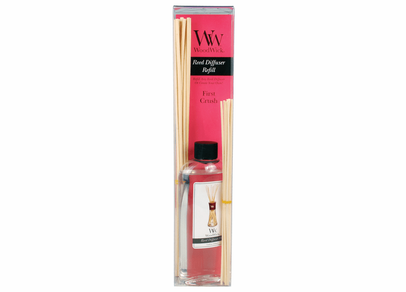 _DISCONTINUED - First Crush WoodWick 7.4 oz. Reed Diffuser REFILL