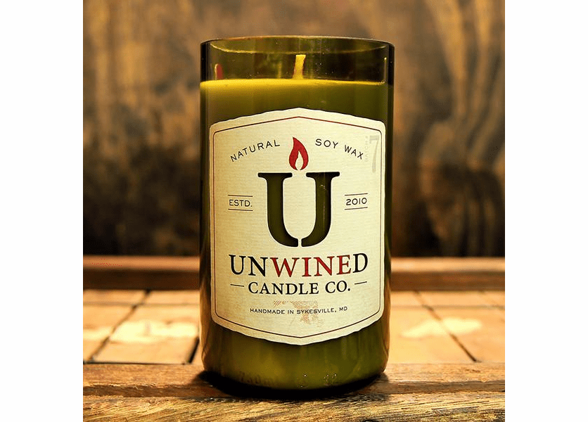 _DISCONTINUED - Flannel 12 oz. Unwined Candle