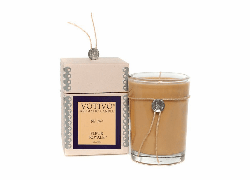 _DISCONTINUED - Fleur Royale Aromatic Jar Votivo Candle