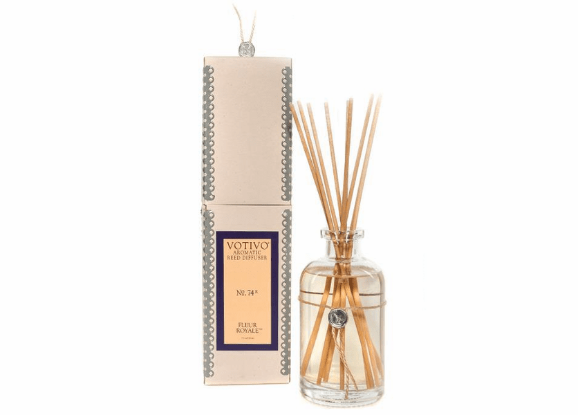 _DISCONTINUED - Fleur Royale Aromatic Reed Diffuser Votivo Candle