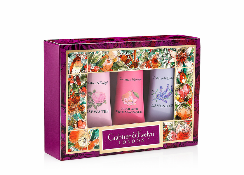 _DISCONTINUED - Florals Sampler (Set of 3) - Holiday Collection by Crabtree & Evelyn