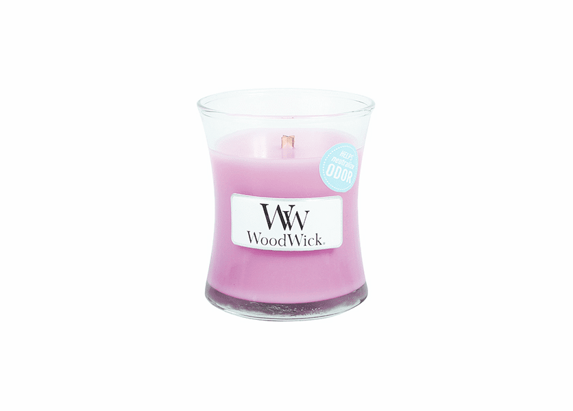 _DISCONTINUED - Flower Garden WoodWick ODOR NEUTRALIZING Candle 3.4oz.