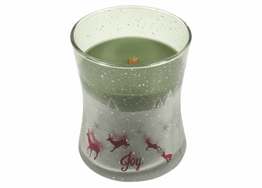 _DISCONTINUED - *Frasier Fir Scenic Hourglass WoodWick Candle