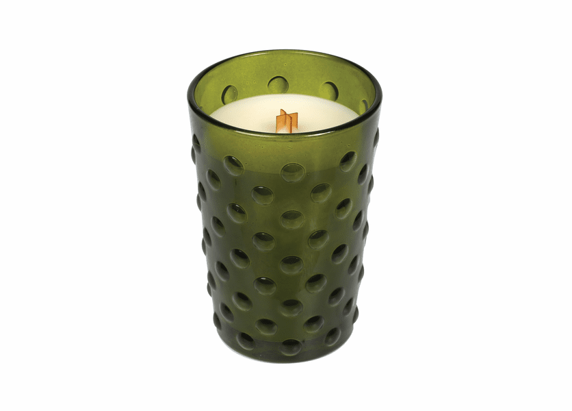 _DISCONTINUED - *Frasier Fir Vintage Hobnail Glass WoodWick Candle