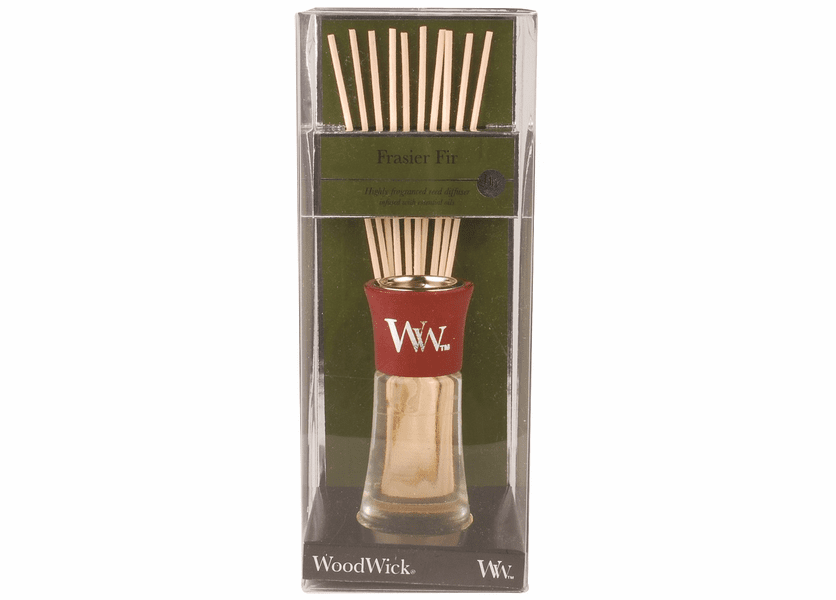 _DISCONTINUED - Frasier Fir WoodWick 2 oz Reed Diffuser