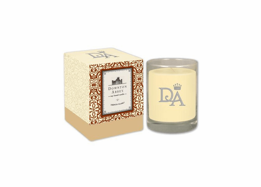 _DISCONTINUED - French Claret 10 oz. Downton Abbey Collection Premium Boxed Candle by Boulevard