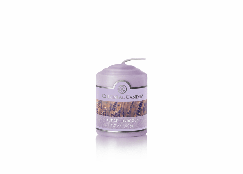 _DISCONTINUED - French Lavender 1.7 oz. Votive Colonial Candle