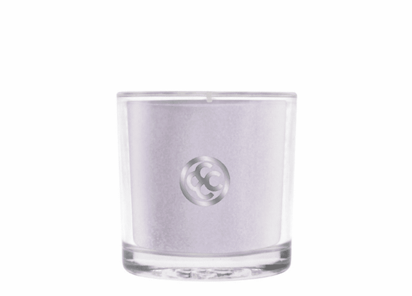_DISCONTINUED - French Lavender Glass Votive Colonial Candle