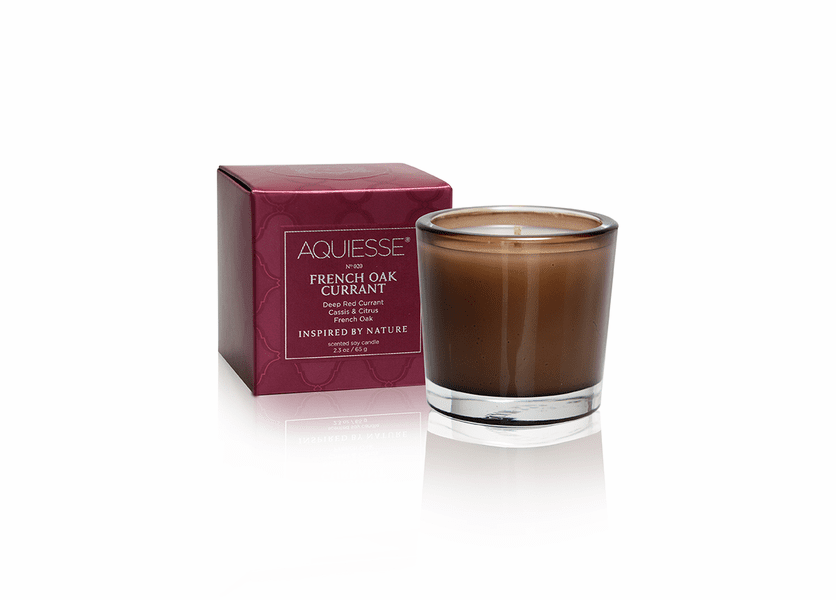 _DISCONTINUED - French Oak Currant Soy Votive by Aquiesse