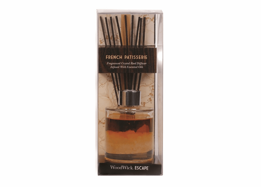 _DISCONTINUED - French Patisserie WoodWick Escape Crystal Reed Diffuser