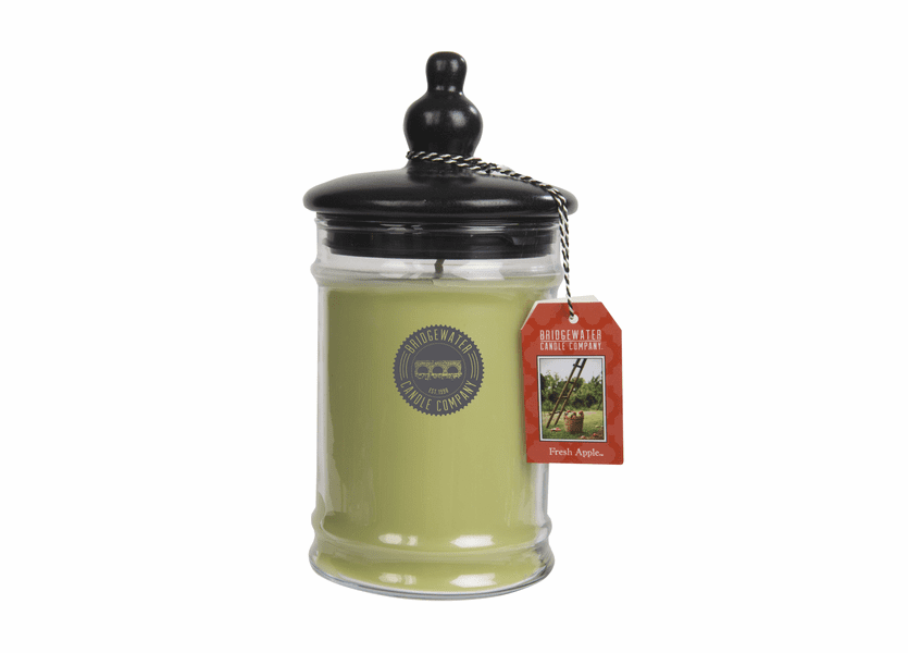 _DISCONTINUED - Fresh Apple Large Jar Candle - Bridgewater