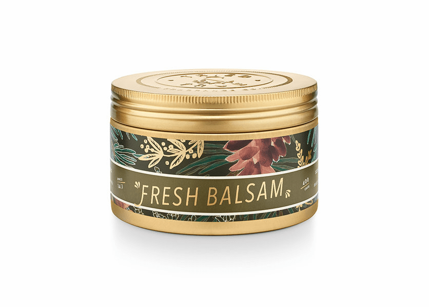 _DISCONTINUED - Fresh Balsam 14.1 oz. Large Tin Candle by Tried & True