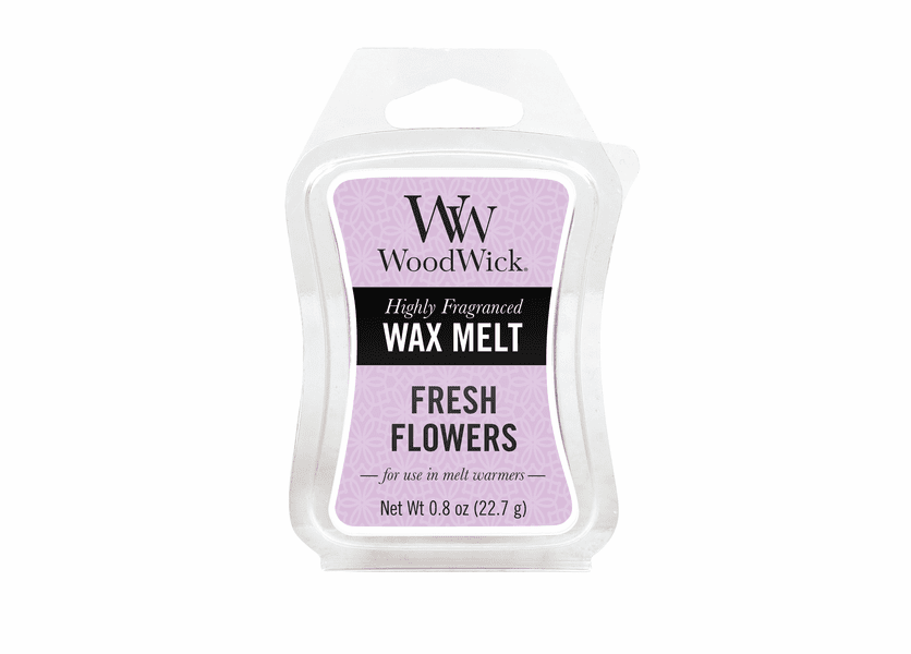 _DISCONTINUED - Fresh Flowers WoodWick 0.8 oz. Mini Hourglass Wax Melt