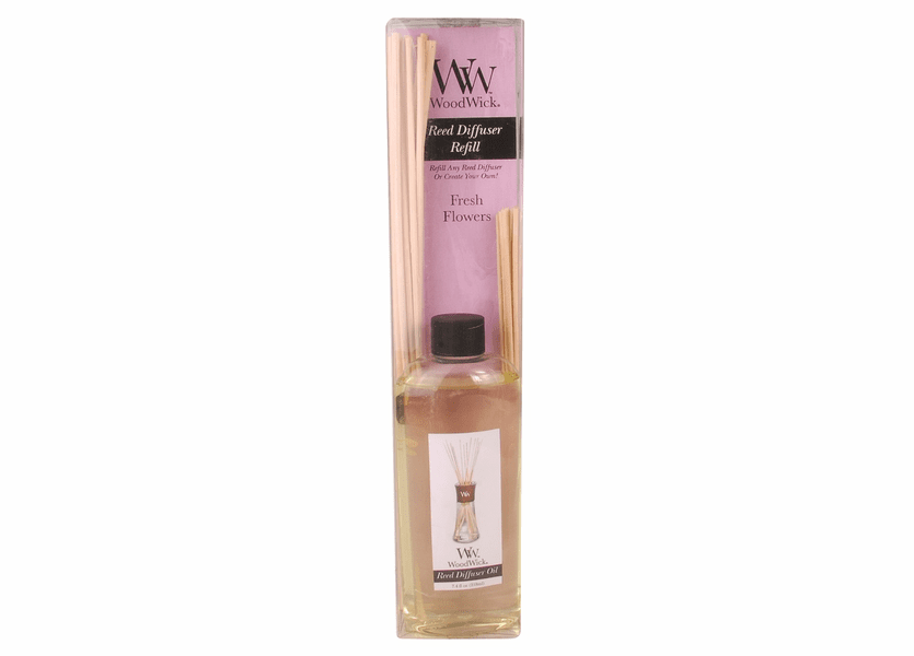 _DISCONTINUED - Fresh Flowers WoodWick 7.4 oz. Reed Diffuser REFILL
