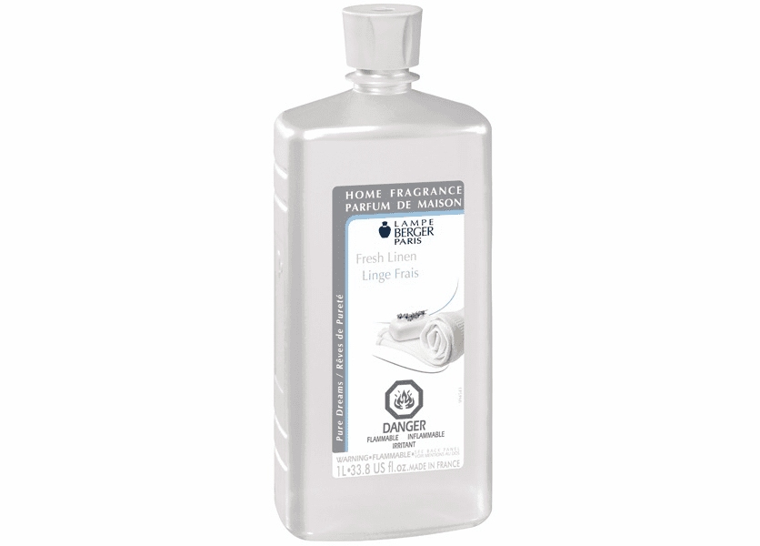 _DISCONTINUED - Fresh Linen 1 Liter Fragrance Oil by Lampe Berger