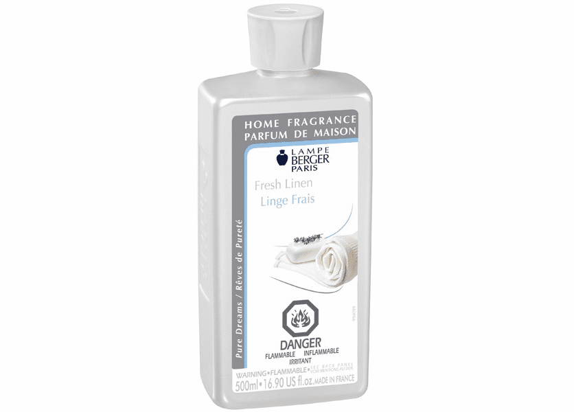 _DISCONTINUED - Fresh Linen 500ML Fragrance Oil by Lampe Berger