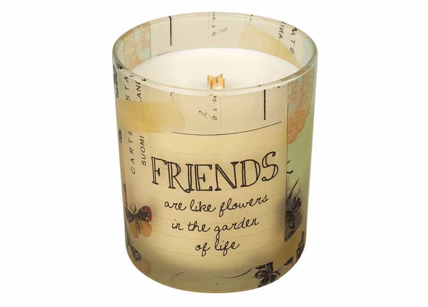 _DISCONTINUED - Friends Inspirational Collection 10 oz. Jar WoodWick Candle