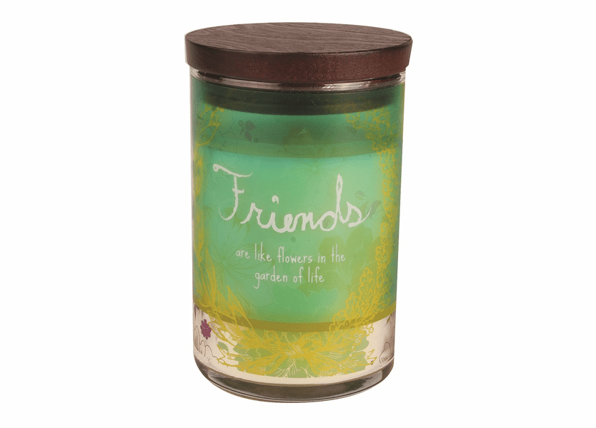 _DISCONTINUED - Friends WoodWick Inspirational Collection Candle - 9.5 oz.