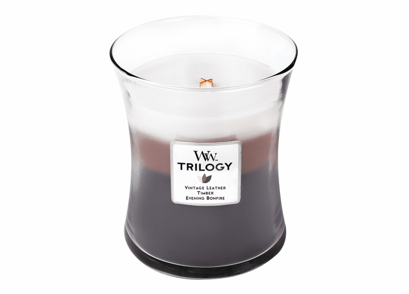 _DISCONTINUED - Frontier Trails WoodWick Trilogy Candle 10 oz.