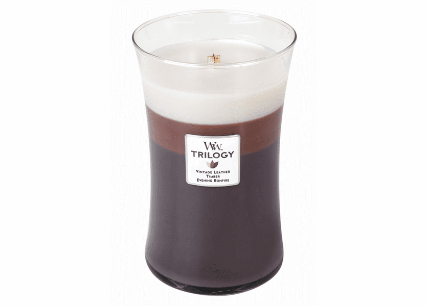 _DISCONTINUED - Frontier Trails WoodWick Trilogy Candle 22 oz.