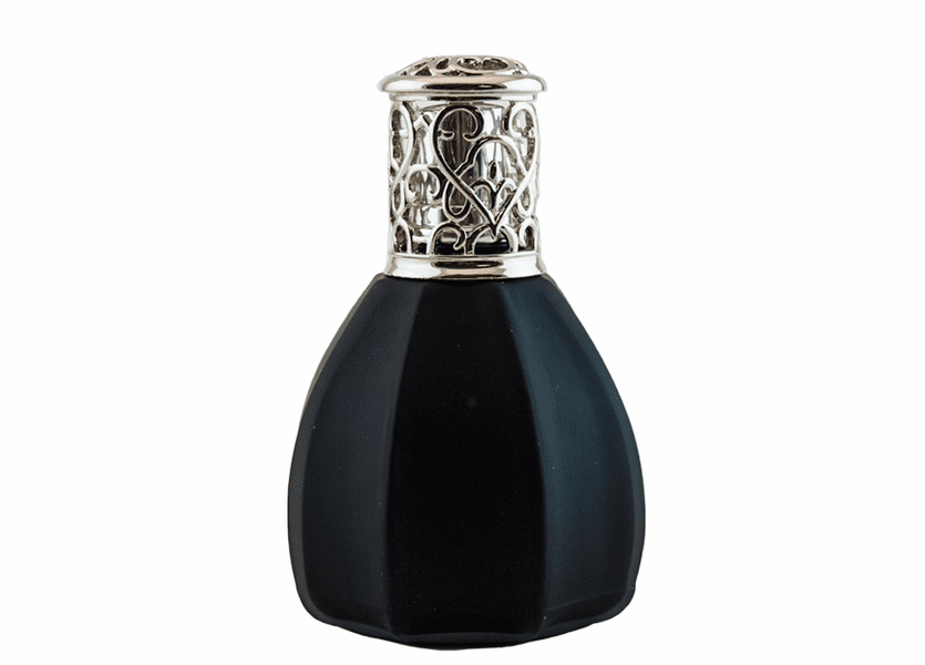 _DISCONTINUED - Frosted Black Fragrance Lamp by Alexandrias-Bella Breeze