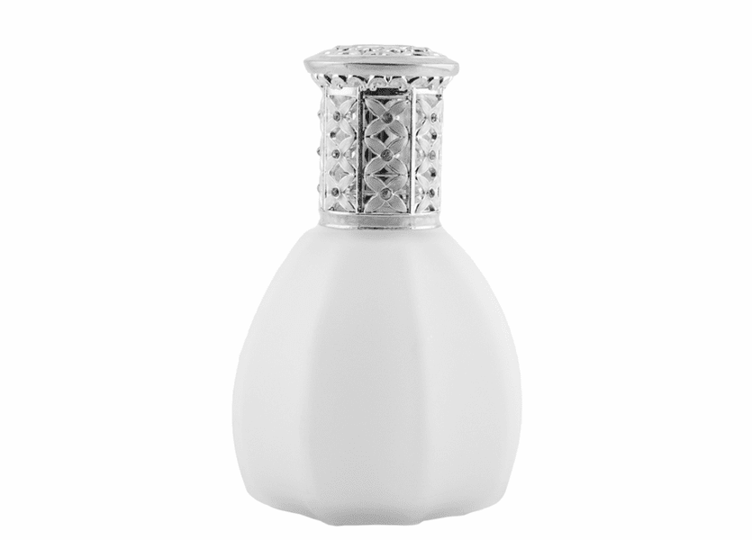 _DISCONTINUED - Frosted White Fragrance Lamp by Alexandrias-Bella Breeze