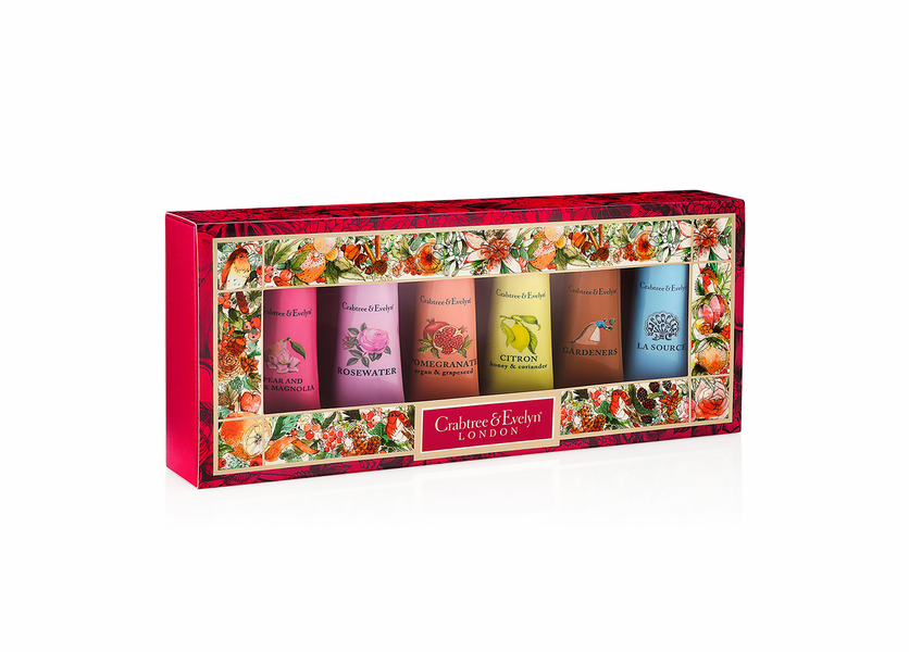_DISCONTINUED - Fruit & Botanicals Sampler (Set of 6) - Holiday Collection by Crabtree & Evelyn