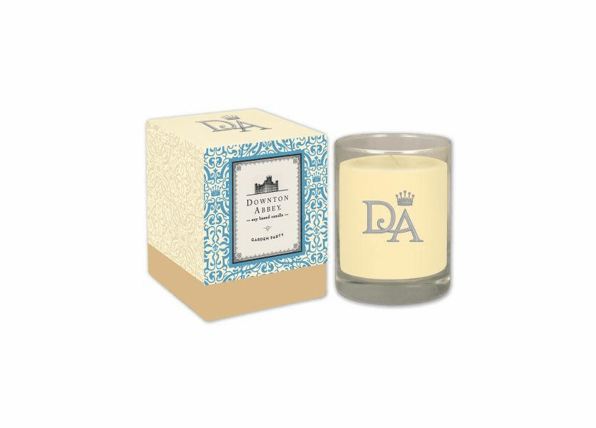 _DISCONTINUED - Garden Party 10 oz. Downton Abbey Collection Premium Boxed Candle by Boulevard
