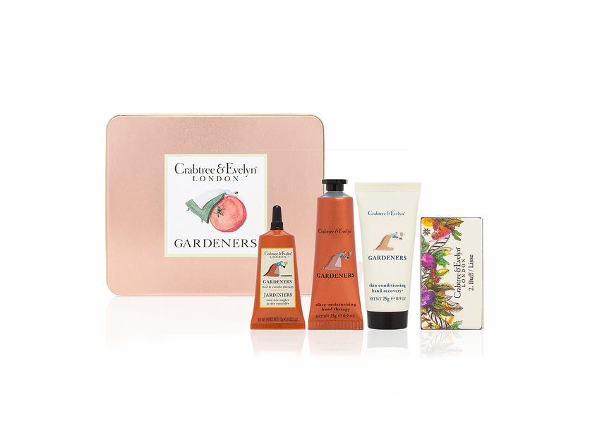 _DISCONTINUED - Gardeners Hand Care Tin - Holiday Collection by Crabtree & Evelyn