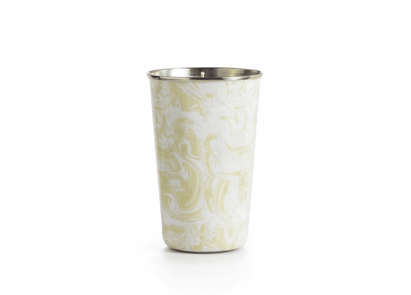 _DISCONTINUED - Gardenia Enameled Tumbler Illume Candle