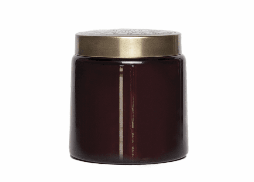_DISCONTINUED - Gardenia Fig 17 oz. Tinted Glass Jar Candle by Aspen Bay Candles