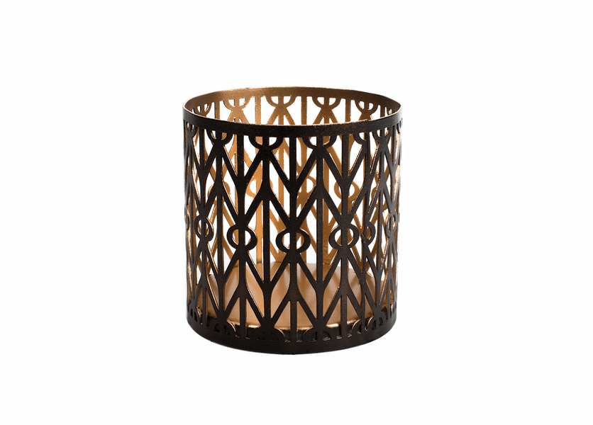 _DISCONTINUED - Geometric Petite Holder WoodWick Candle