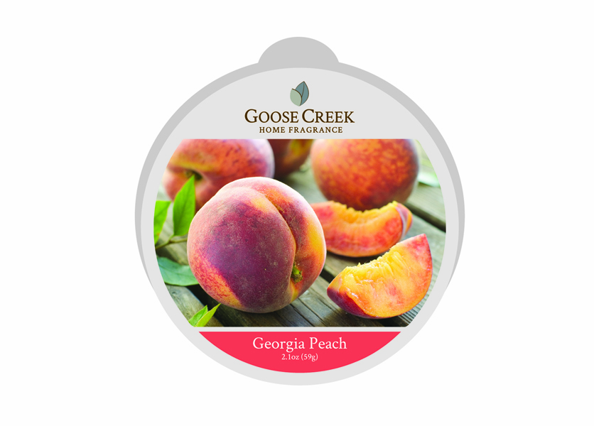 _DISCONTINUED - Georgia Peach Essential Series Goose Creek Wax Melt