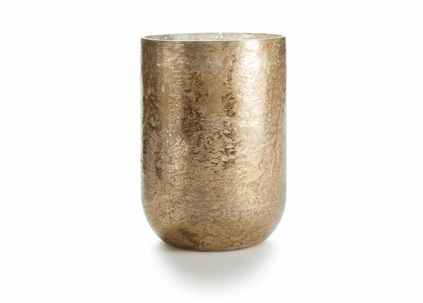 _DISCONTINUED - Gilded Amberleaf Oversized Sanded Mercury Vase Illume Candle