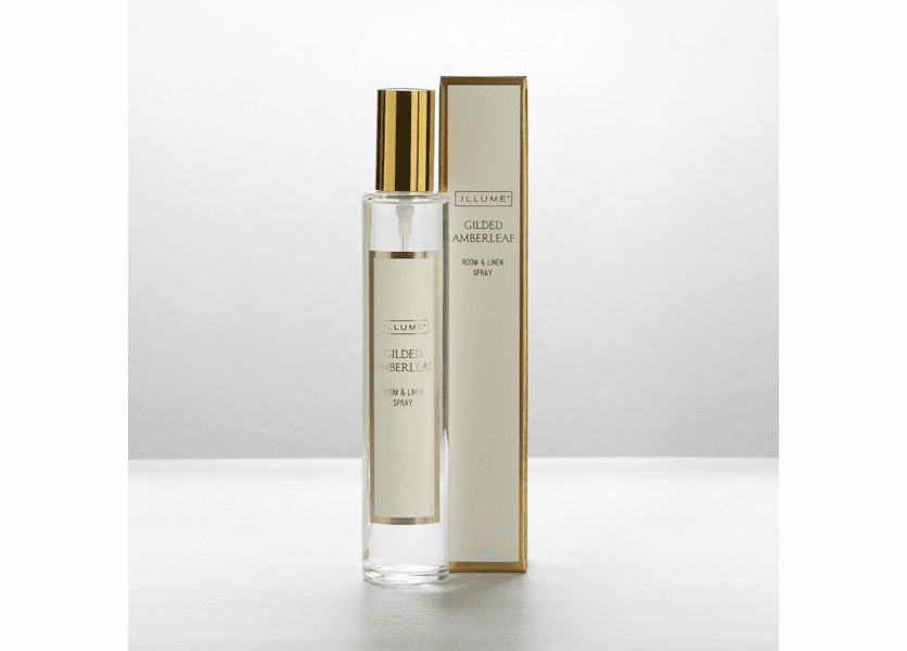 _DISCONTINUED - Gilded Amberleaf Room & Linen Spray by Illume Candle