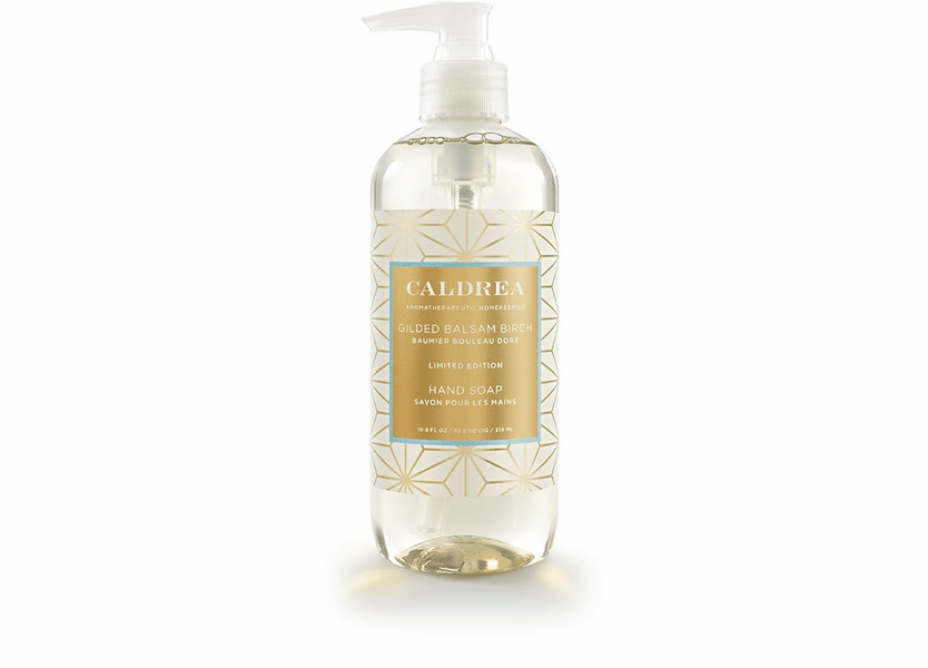 _DISCONTINUED - *Gilded Balsam Birch Limited Edition 10.8 oz. Hand Soap by Caldrea