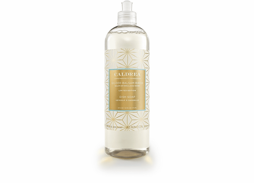 _DISCONTINUED - *Gilded Balsam Birch Limited Edition 16 oz. Dish Soap by Caldrea