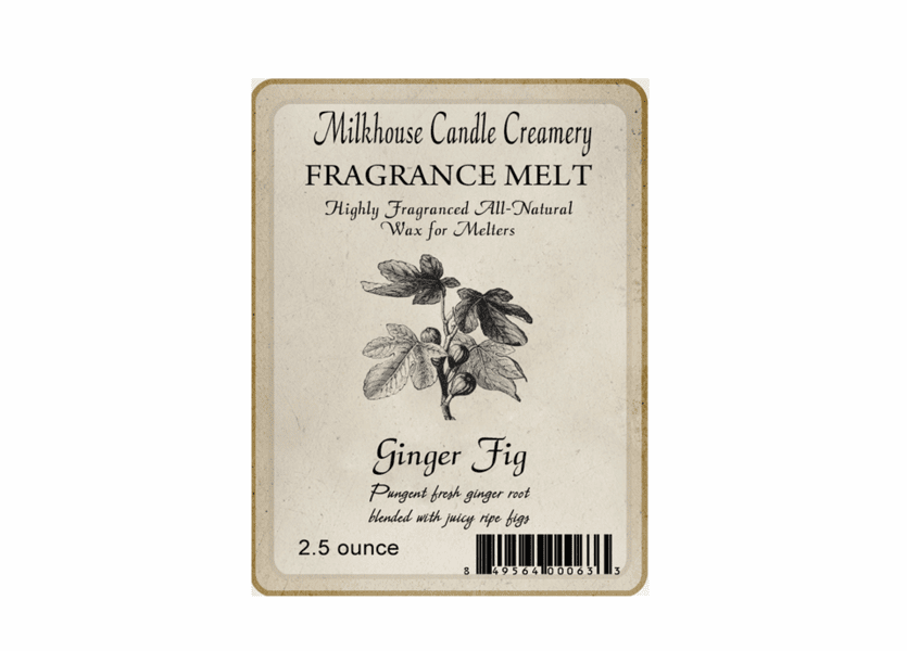 _DISCONTINUED - Ginger Fig Fragrance Melt by Milkhouse Candle Creamery