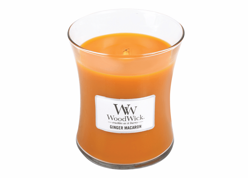 _DISCONTINUED - Ginger Macaron WoodWick Candle 10 oz.