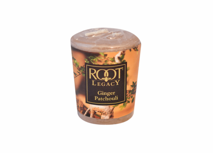 _DISCONTINUED - Ginger Patchouli 20-Hour Votive by Root