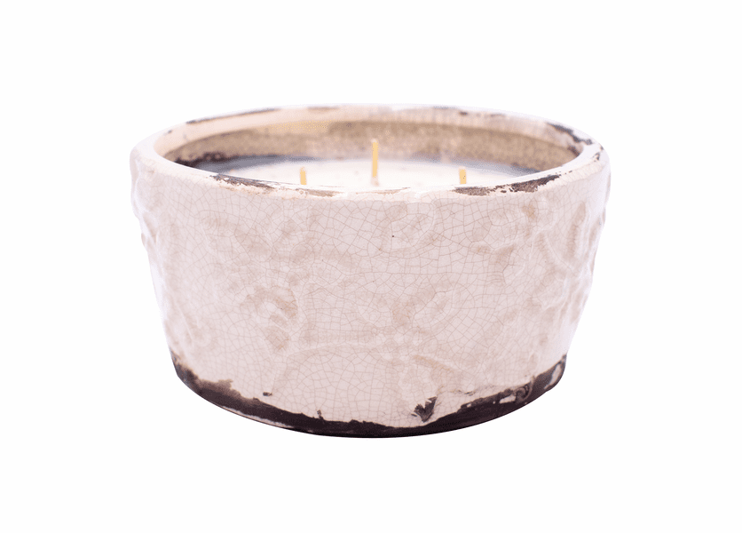 _DISCONTINUED_Gingerbread Holiday Pottery Bowl (Color: Ivory)