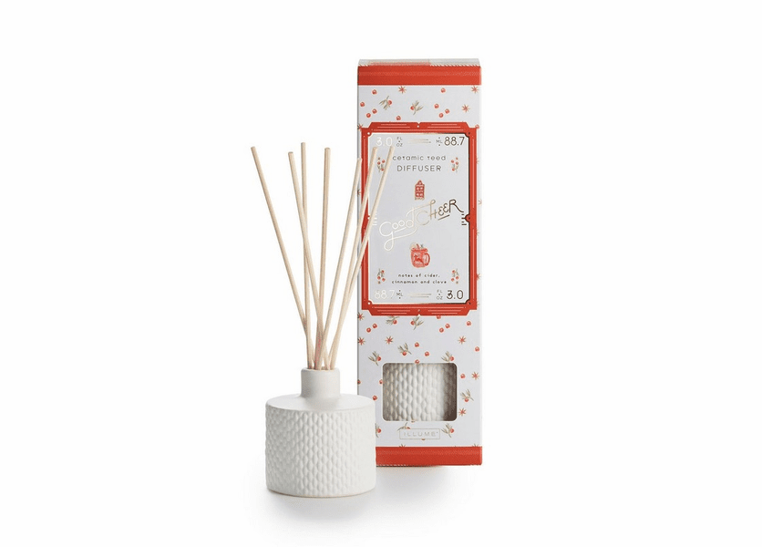 _DISCONTINUED - Good Cheer Ceramic Diffuser by Illume Candle