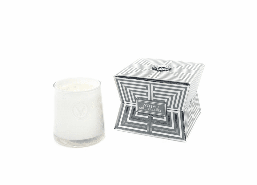 _DISCONTINUED - Gorgeous Grey Soziety Jar Votivo Candle