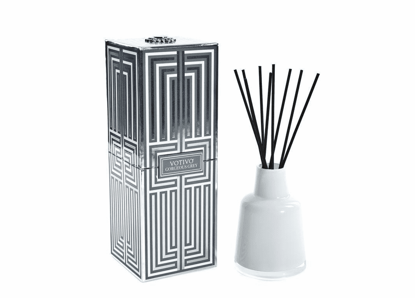 _DISCONTINUED - Gorgeous Grey Soziety Reed Diffuser Votivo Candle